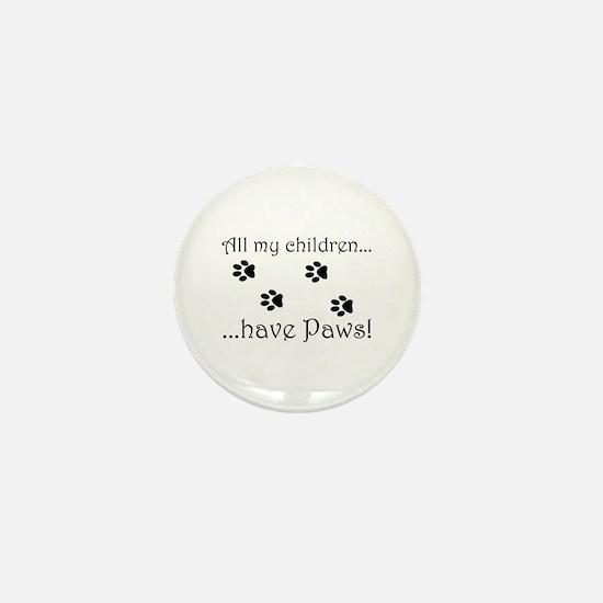 Kitty Kids Mini Button