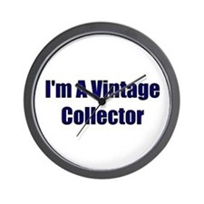 I'm A Vintage Collector Wall Clock