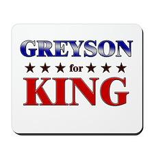 GREYSON for king Mousepad