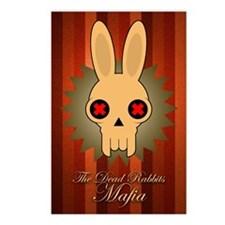 <b>DEAD RABBITS MAFIA</b><br>Pack of 8 postcards
