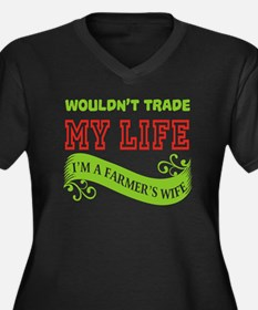 Wouldn't Trade My Life T Shirt, Plus Size T-Shirt
