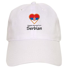 Happily Married Serbian Baseball Cap