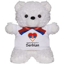 Happily Married Serbian Teddy Bear