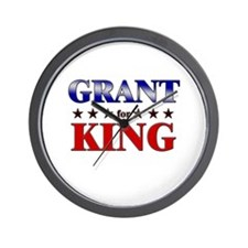 GRANT for king Wall Clock