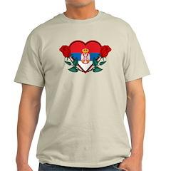 Heart Serbia T-Shirt