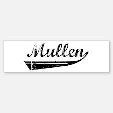 Mullen (vintage) Bumper Bumper Bumper Sticker