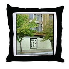 Wishes Message Throw Pillow