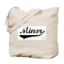 Minor (vintage) Tote Bag