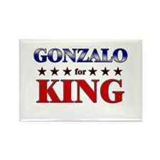 GONZALO for king Rectangle Magnet