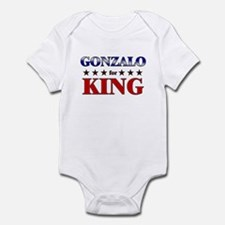 GONZALO for king Infant Bodysuit