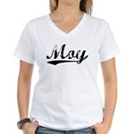 Moy (vintage) Women's V-Neck T-Shirt