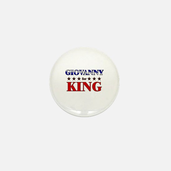 GIOVANNY for king Mini Button