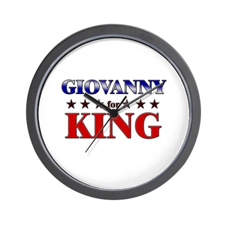 GIOVANNY for king Wall Clock