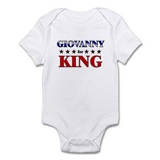 GIOVANNY for king Infant Bodysuit