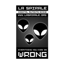 <b>LA SPIRALE ALIENS</b><br>Rectangular Decal