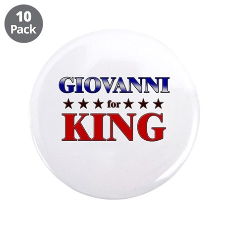 """GIOVANNI for king 3.5"""" Button (10 pack)"""