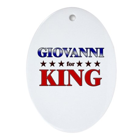GIOVANNI for king Oval Ornament