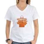 Mexican Holiday Women's V-Neck T-Shirt