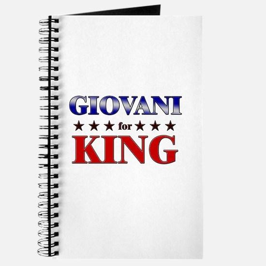 GIOVANI for king Journal