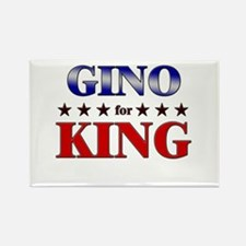 GINO for king Rectangle Magnet