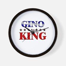 GINO for king Wall Clock