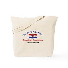 Coolest Croatian Grandma Tote Bag