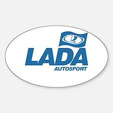 LADA Autosport Oval Decal