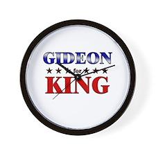GIDEON for king Wall Clock