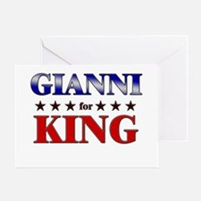 GIANNI for king Greeting Card