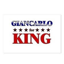 GIANCARLO for king Postcards (Package of 8)