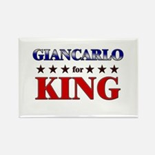 GIANCARLO for king Rectangle Magnet