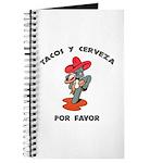 Tacos y Cerveza Journal