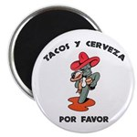 Tacos y Cerveza Magnet
