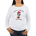 Tacos y Cerveza Women's Long Sleeve T-Shirt