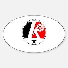 BC Lietuvos Rytas Oval Decal