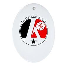 BC Lietuvos Rytas Oval Ornament