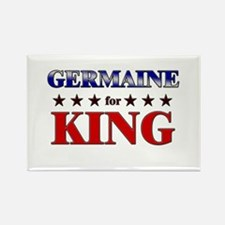 GERMAINE for king Rectangle Magnet