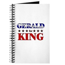GERALD for king Journal