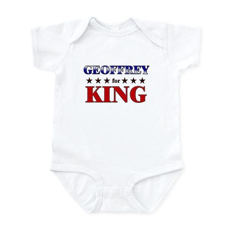 GEOFFREY for king Infant Bodysuit