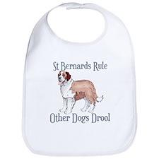 Saint Bernards Rule Other Dogs Drool Bib