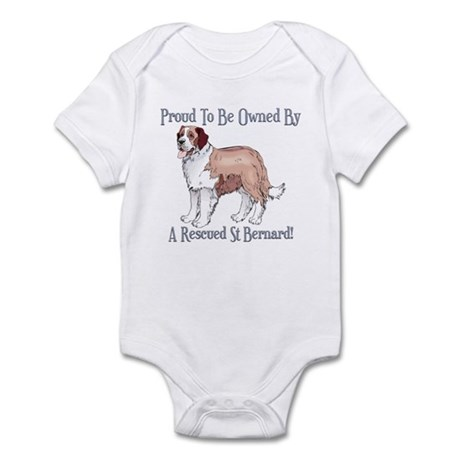 Proudly Owned By a Rescued St Bernard Infant Bodys