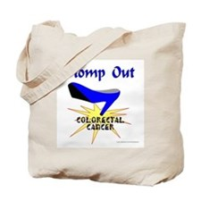 COLORECTAL CANCER Tote Bag