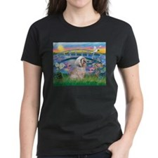 Lilies / Lhasa Apso Tee