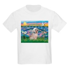 Lilies / Lhasa Apso T-Shirt