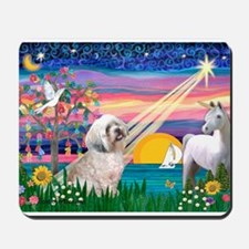 Magical /Lhasa Apso Mousepad