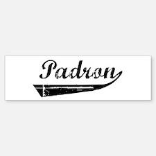 Padron (vintage) Bumper Bumper Bumper Sticker