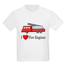 I Love Fire Engines T-Shirt