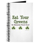 Eat Your Greens Shamrock Journal
