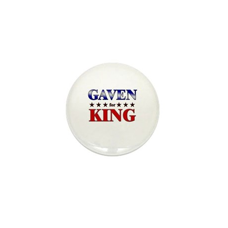 GAVEN for king Mini Button (10 pack)