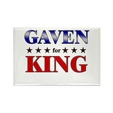 GAVEN for king Rectangle Magnet